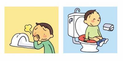 水洗トイレが使えます