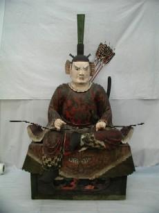 木造随身像(右大臣)の画像