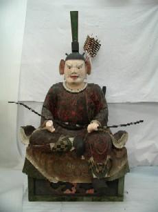 木造随身像(左大臣)の画像