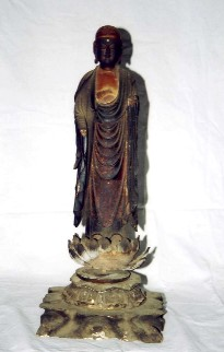 木造地蔵菩薩立像の画像