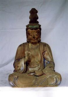 木造聖観音菩薩坐像の画像