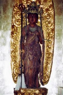 木造十一面観世音菩薩立像