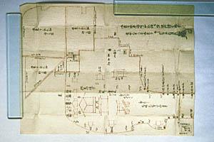 朱印地図絵(慶安元年のもの)