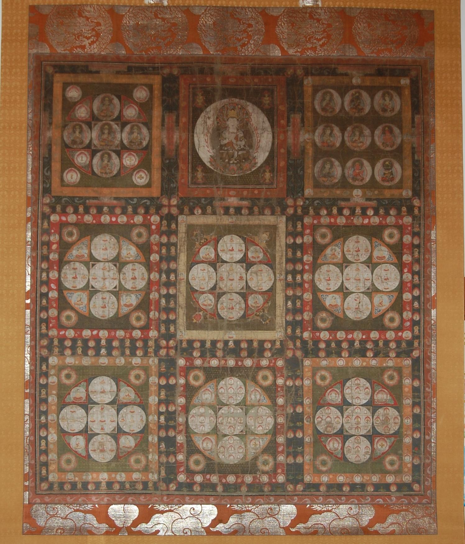 福寿院金剛界曼荼羅の画像
