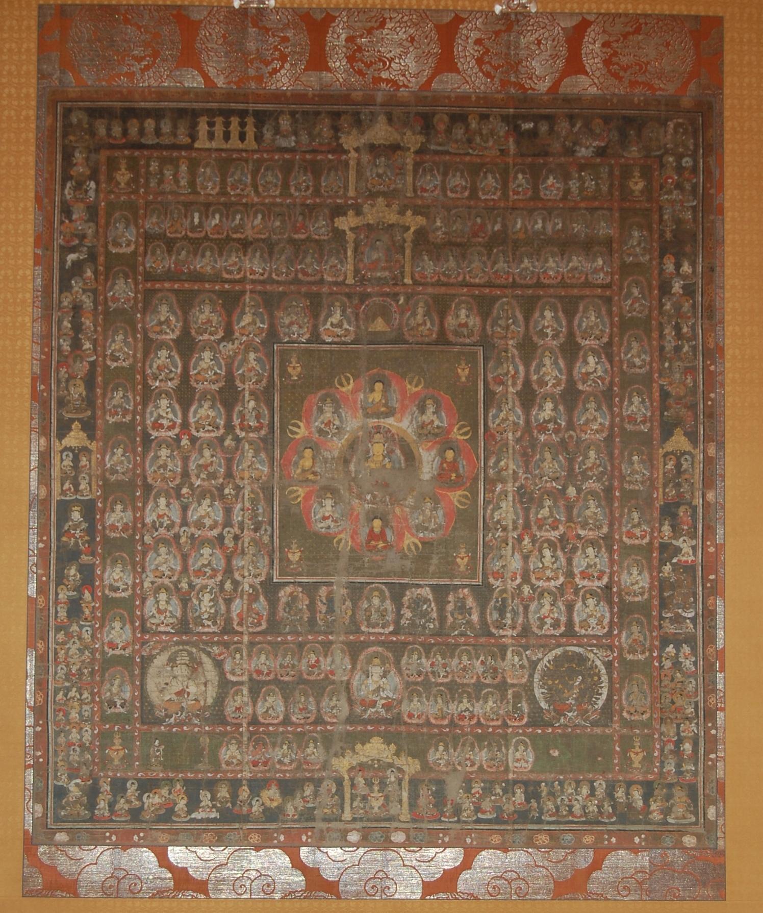 福寿院胎蔵界曼荼羅の画像