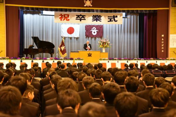 H30.3東中卒業式