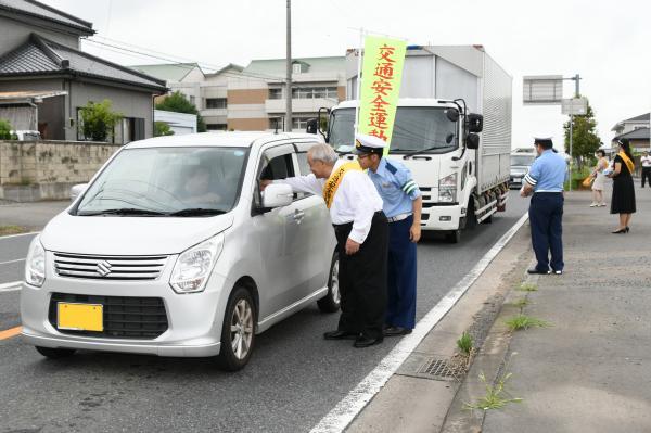 夏の交通安全運動