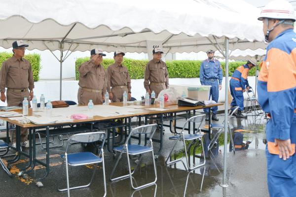 H30総合防災訓練