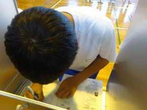 H30生徒会選挙02