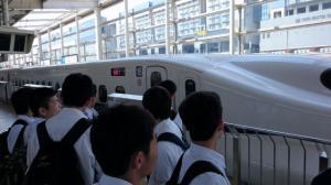 R1帰り新幹線