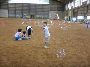 子ども教室シャボン玉