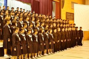3年学年合唱