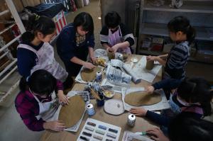 4年生校外学習 笠間(2)