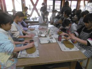 4年生校外学習笠間(4)