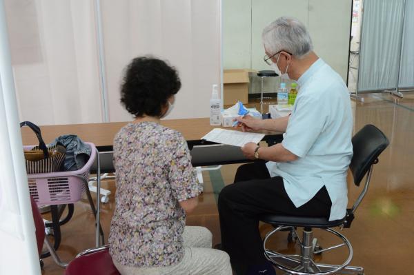 接種開始(2)