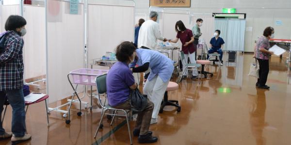 接種開始(6)