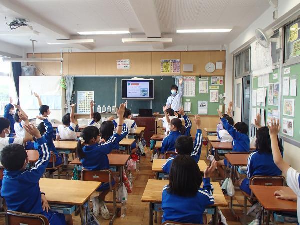 安静小学校出前講座(1)