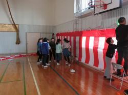 入学式準備3