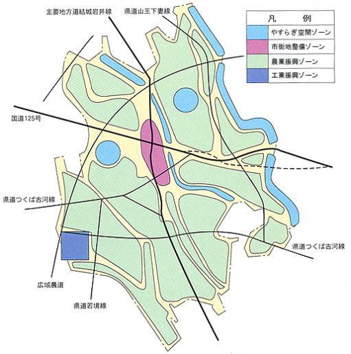 第4次総合計画 土地利用構想